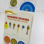 Peleg Magnetic Stickers display